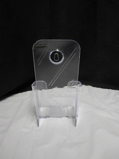 10 Clear Acrylic Pamphlet Holders Wall Mount Or Standing Brochure Stands  #uline