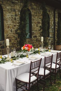 Outdoor Garden Party Wedding Ideas | photography by http://spindlephotography.com