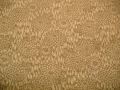 SPRING OFFER Rare Brown Kiku Edo Komon Vintage by CosimaOrimono