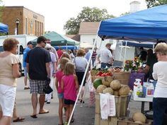 Saturday is Market Day at Huntley Farmers Market in Illinois 8am - 1pm at 11704 Coral Street betweanden Church & Woodstock Street http://farmersmarketonline.com/fm/HuntleyFarmersMarket.html