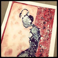#monotype #printmaking