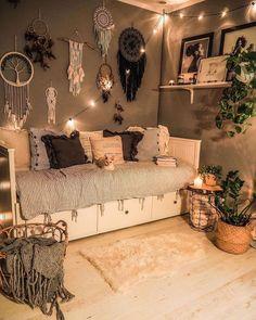 Cute Bedroom Decor, Room Design Bedroom, Room Ideas Bedroom, Small Room Bedroom, Home Room Design, Home Bedroom, Bedrooms, Cozy Room, Aesthetic Bedroom