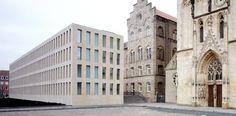 The Diözesanbibliothek in Münster by Max Dudler.