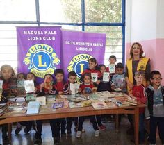 #Happy #kids means happy #Lions! 200 #story #books #donated to a local primary #school. #weserve #lionsclubinternational #magusakalelions #famagustacastlelions #northcyprus #lionsclub #lionsfamagustacyprus #lionseverywhere #lions100 #lionsclubs #lionsclubselfie #magusa #kktc #trnc #kuzeykibris #kuzey #kıbrıs #lionsclubsinternational