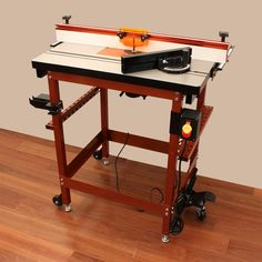 32x24in Cast-Iron Router Table Kit