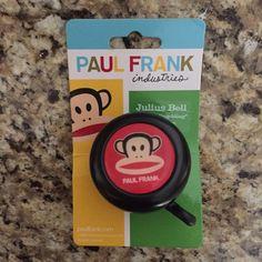 NWT Paul Frank Bike Bell Brand new still in packaging Paul Frank Accessories
