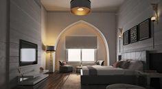 Chambre à coucher stylée