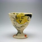 Cup made by ceramic artist Akio Takamori.