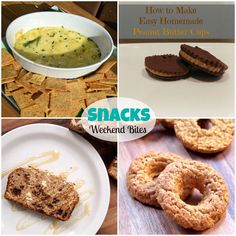 Weekend Bites link party featuring Snacks