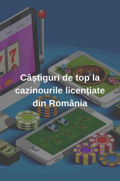 Câștiguri de top la cazinourile licențiate din România #jocuri #jocuricalaaparate #Romania #casino News