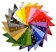 Storopa - (Germany): Bekleidung: Bandana mit original Paisley Muster in 55 Farben und Motiven: Kaufen Neu: EUR 0,99 - EUR 1,79 [Available In Germany]