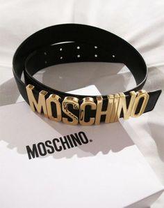 Brand New Black Leather Belt With Metallic Gold Letters Moschino Belt Style Moschino Belt, Pulseras Michael Kors, Prada, Luxury Belts, Jewelry Accessories, Fashion Accessories, Men Accessories, Style Fashion, Teen Fashion