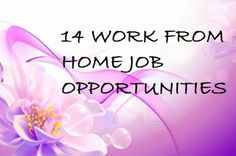 Work from home, make money online, home business