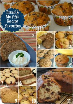 Muffins and Breakfast Breads Favorite Recipes Roundup