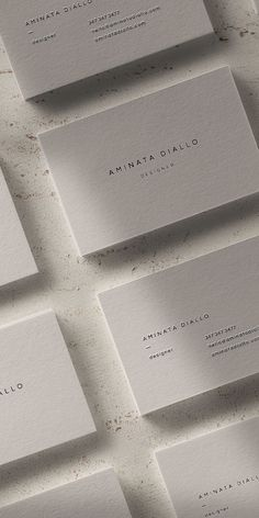 The Diallo is a sleek and modern business card template that is well suited for those seeking a sharp and elevated brand presence. With its sophisticated typeface and minimal layout, it can be seamlessly adapted into many professions and services while maintaining a polished edge. Pro tip: print on colored paper for a more branded look.