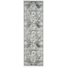 Shop for Safavieh Evoke Grey/ Ivory Rug (2'2 x 7'). Get free shipping at Overstock.com - Your Online Home Decor Outlet Store! Get 5% in rewards with Club O!
