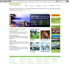 Klant: Phuket Villa Services. Gerealiseerd door Webbees: webdesign en technische realisatie. www.phuketvillaservices.com