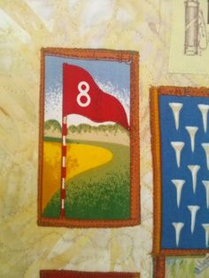 "GOLF WALLHANGING ""LADY GOLFERS HAVE MORE DRIVE"" QUILTED, SIGNED AND DATED  PLEASE VISIT MY ETSY& EBAY  SITES FOR QUILTING, FABRIC, VINTAGE ITEMS, CROCHET,COLLECTIBLES, MINIATURE, HOME DECOR, ETC..  http://www.etsy.com/shop/QuiltingbyDiamanti http://stores.ebay.com/rpmdtm instagram:quiltingbydiamantiandmore  twitter :QuiltingbyDiamanti Pinterest QuiltingbyDiamantiandmore"