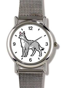 Wolf - Chrome-Plated Metal Alloy Watch | WolfGifts.com