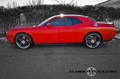 Challenger. Pretties car ever.... I am drooling....