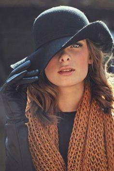 Cappello | 10 consigli per essere eleganti anche in inverno | #Hat #Style #Fashion
