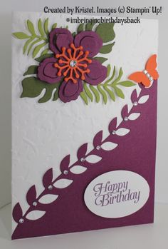 Created by Kristel for Kelly Kent - mypapercraftjourney.com. #imbringingbirthdaysback
