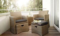 Kettler Gartenmöbel, Lounge Gartenmöbel, Sessel Mit Hocker, Sitzgruppe,  Kronleuchter, Tisch,