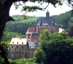 Burg Kriebstein, eine der schönsten Ritterburgen Sachsens