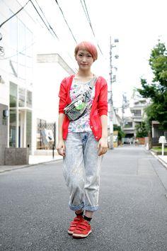 【STREET SNAP】カシワイ ヨシノ | ストリートスナップ | 原宿(東京)|