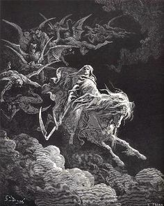 Title: Death on a Pale Horse (Revelation) by Gustave Doré. (from Art Passions) http://www.fivefoldministryireland.com