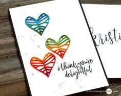 """Faux Metal Video by Jennifer McGuire Ink  Copics on die cut with three layers of clear powder.  """"I also wanted to splatter some sparkle in the background. Get this – I did it with water! I just flicked water on the background… added WOW Silver Glitter Embossing Powder and heat embossed. Works great!"""""""