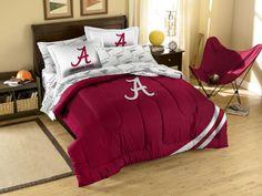 Alabama Crimson Tide Contrast Full Bed in a Bag