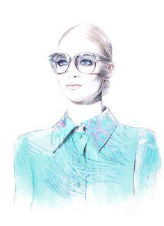Fashion Illustration by Anca G. Lungu