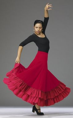 flamenco pose