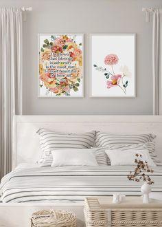 FLOWER THAT BLOOMS - illustrations art prints UK #art #prints #printshop #printsforsale #bedroomprints