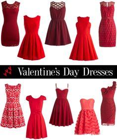 valentines day dresses via life unsweetened