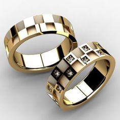 alianças diferentes e criativas de casamento - Pesquisa Google