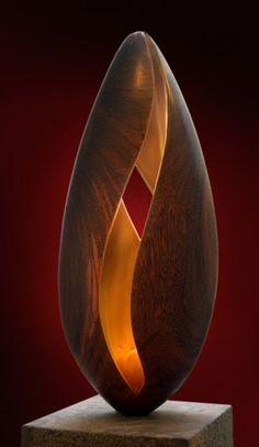 Objekt Objekt The post Objekt appeared first on Lampe ideen. Abstract Sculpture, Sculpture Art, Futuristic Art, Contemporary Sculpture, Wood Lamps, Stone Sculpture, Wooden Art, Stone Carving, Wood Turning
