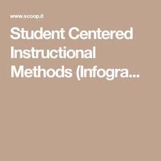 Student Centered Instructional Methods (Infogra...