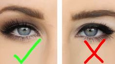 5) With the little space available on your eyelid, be sure not to pile on too much eyeliner - unless that is the look you are going for.
