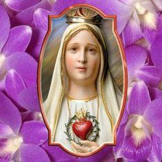 ® Blog Católico Gotitas Espirituales ®: VIRGEN DE FÁTIMA Matki, Pictures Of Jesus Christ, Spirituality, Saints, Religious Pictures, Faith, Spiritual