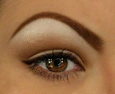 high arched eyebrows