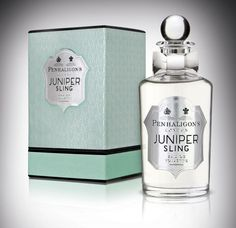 The best scents tell a story, capturing a memory or a moment in time. This is true of the new Penhaligon's fragrance Juniper Sling, which launches this month with packaging designed by jkr of the United Kingdom.