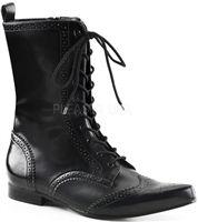 DEMONIA Brogue-10 #goth #gothic #punk #punkrock #rockabilly #psychobilly #pinup #inked #alternative #alternativefashion #fashion #altstyle #altfashion #clothing #clothes #vintage #noir #infectiousthreads #horrorpunk #horror #steampunk #zombies #burningmanclothing #goth shoes #gothic shoes #goth boots #gothic boots