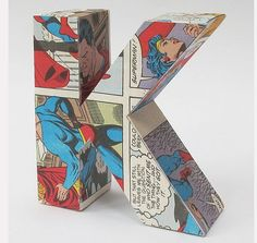 comic letters