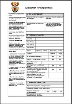 Z83 application from is an application form to apply for government employment.To assist a government department in selecting a person for an advertised post. This Z83 form may be used to identify…