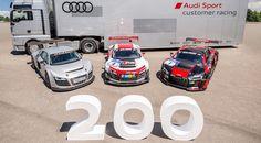 Ya se han hecho 200 unidades del Audi R8 LMS # El Audi R8 LMS era lanzado allá por el año 2009. Se trataba de una…