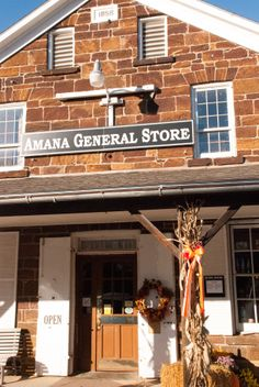 Old General Store in Amana Iowa.