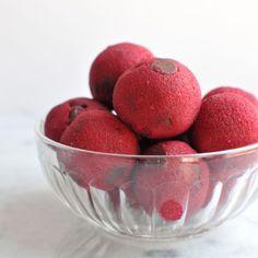 Naturally Pink Chocolate Chip Cookie Dough Balls