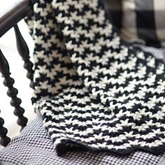 Vintage Crocheted Blanket Pattern
